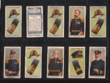 Tobacco Cigarette cards Naval Dress & Badges 1909